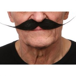 Moustache luxe Dali noire