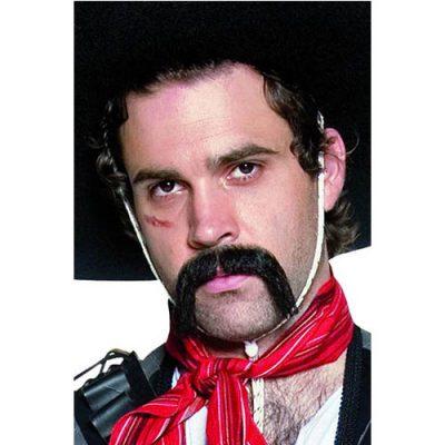 Moustache mexicain noire