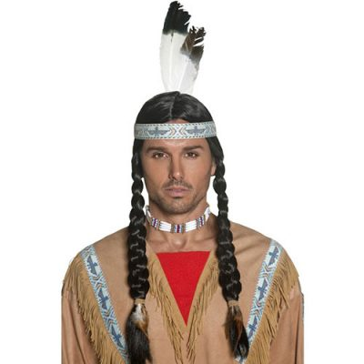 Perruque indien Authentic Western