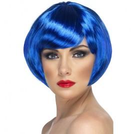 Perruque babe bleue