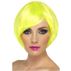 Perruque babe jaune