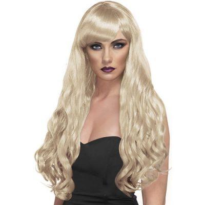 Perruque désir longue blonde