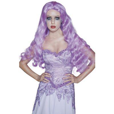 Perruque manoir gothique violette