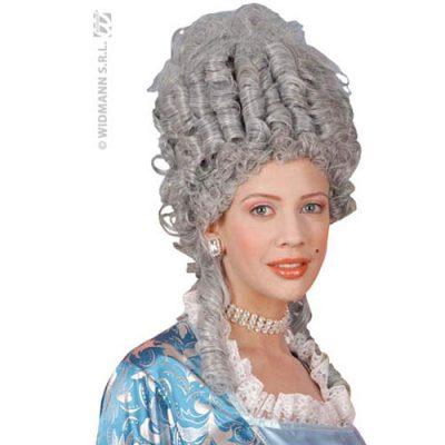 Perruque Marie Antoinette grise
