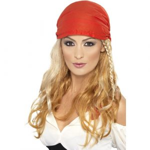 Perruque princesse des pirates blonde