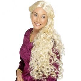 Perruque Renaissance blonde