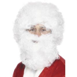 Perruque barbe Papa Noël