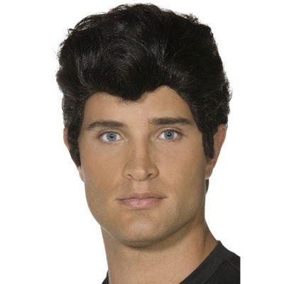Perruque Danny noire Grease