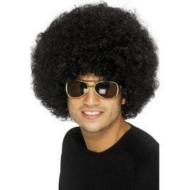 Perruque afro noire