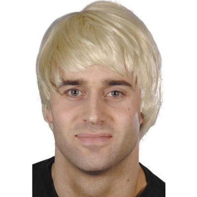 Perruque garçon blond