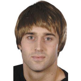 Perruque garçon brun