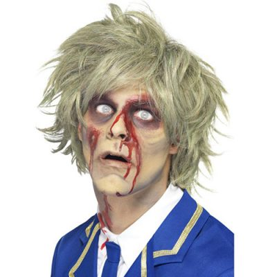Perruque zombie blond