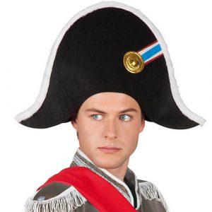 Chapeau Napoléon noir cocarde