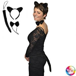 Kit chat noir - Set de déguisement
