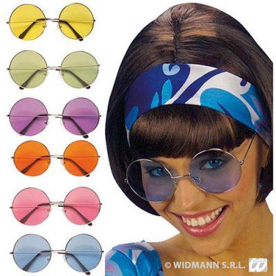 Lunettes années 70 rondes plusieurs coloris