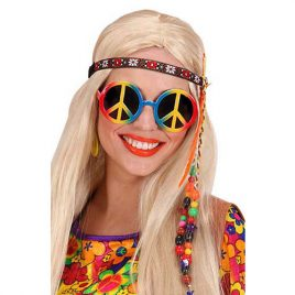 Lunettes hippie multicolore