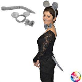 Kit souris grise - Accessoire déguisement
