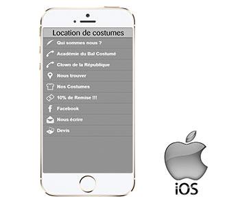 Nos réseaux - Notre application sur IOS