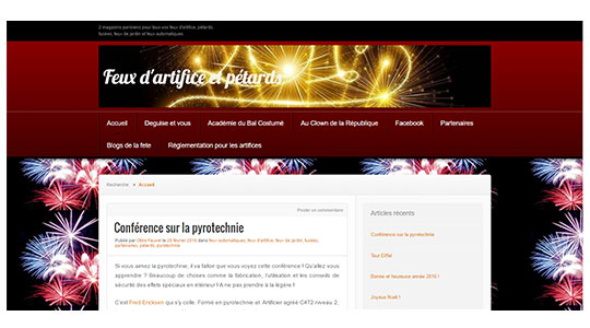 Blog feux d'artifice