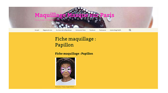 Blog maquillage et masques
