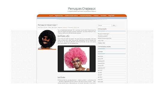 Blog perruques et chapeaux