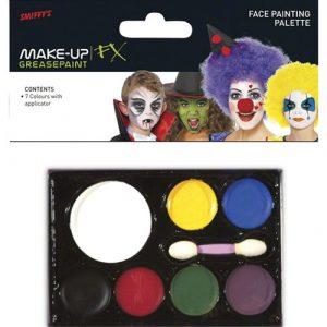 Palette maquillage 7 couleurs - Fard gras Maquillage cosmétique déguisement adultes enfants