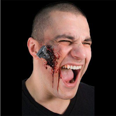 Cicatrice boulon sanglant - Maquillage Effets spéciaux Halloween horreur