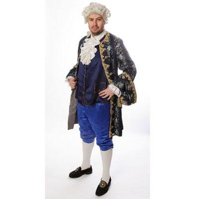 Marquis la vie en bleu Collection prestige, déguisement Paris qualité supérieure