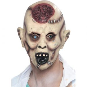 Masque autopsie zombie latex adulte