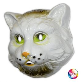 Masque plastique rigide chat adulte