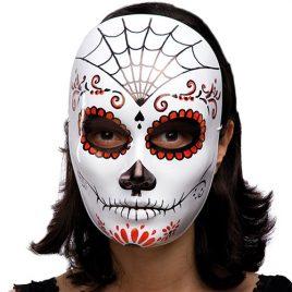 Masque squelette Las Calaveras Fête de la mort