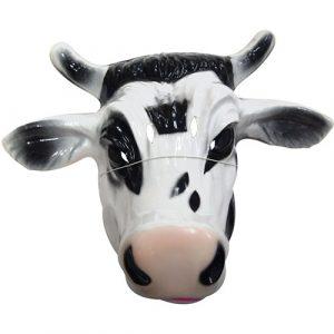Masque plastique rigide vache adulte