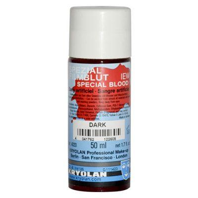 Faux sang foncé lavable 50 ml Maquillage Effets spéciaux Cosmétiques