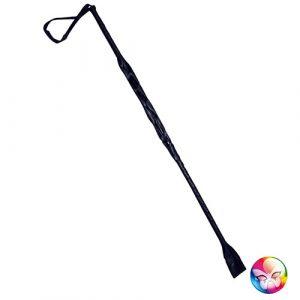 Cravache noire 60 cm - Accessoire deguisement