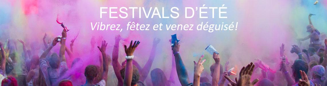 Festivals été - Deguisements, accessoires de fête - Slider