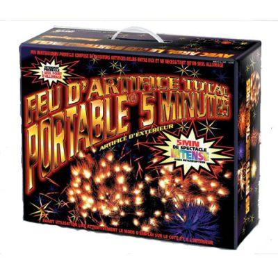 Artifice total portable 5 minutes feu d'artifice à paris