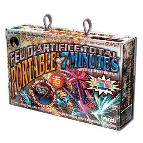 Artifice total portable 7 minutes - Feux d'artifice paris