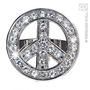 Bague hippie strass