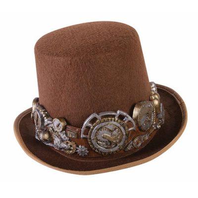 Chapeau haut de forme steampunk