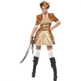Costume femme steam sexy pirate