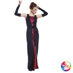 Costume femme vampiresse élégante