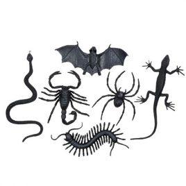 Créatures noires horribles