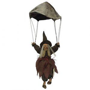 Décoration sorcière parachute son et lumière