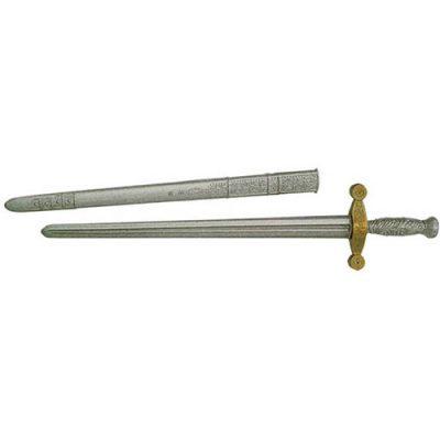 Epée médiévale grise
