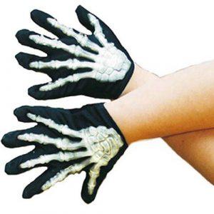 Gants squelette enfant phosphorescents