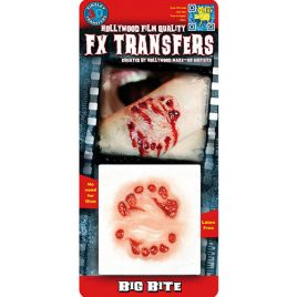 Grosse morsure Transfert 3D