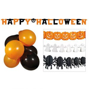 Kit décoration Halloween vitrine