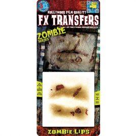 Lèvres de zombie Transfert 3D
