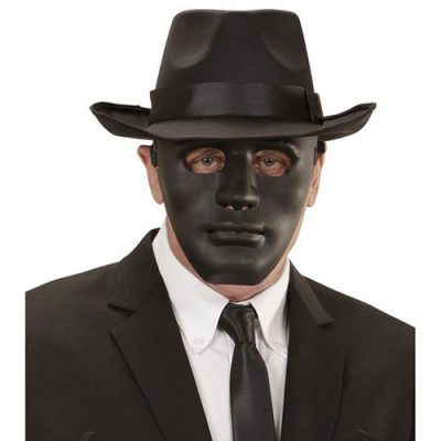 Masque anonyme noir
