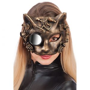 Masque chat steampunk